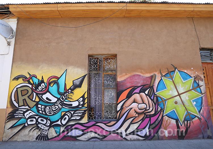 Tags de couleur à Santiago