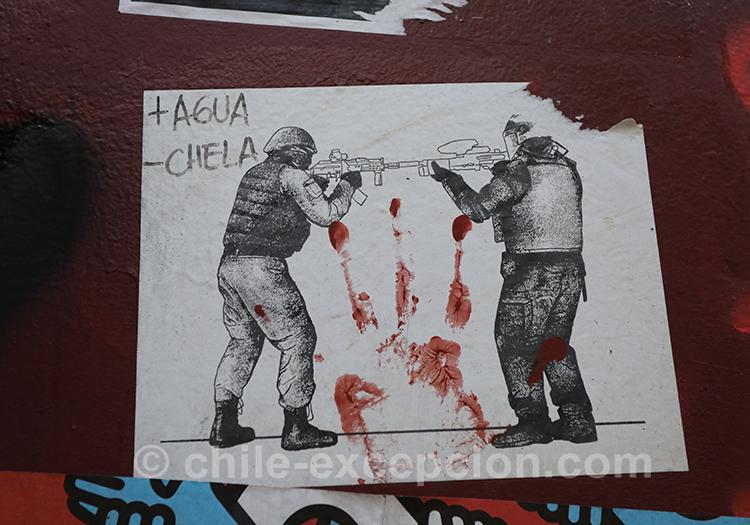 Peuple en souffrance au Chili