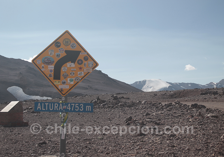 Se rendre à la frontière Agua Negra, Chili Argentine