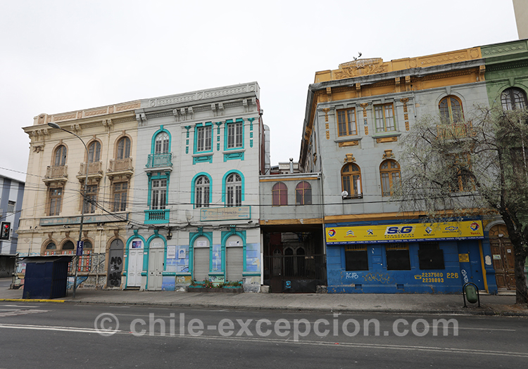 Pourquoi visiter la ville basse de Valparaiso