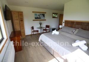 Patagonia House, chambre matrimoniale
