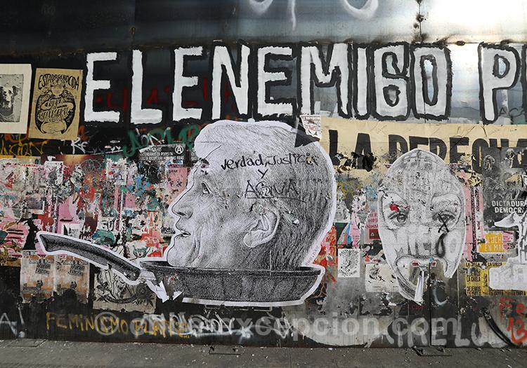 Peuple contre l'armée au Chili