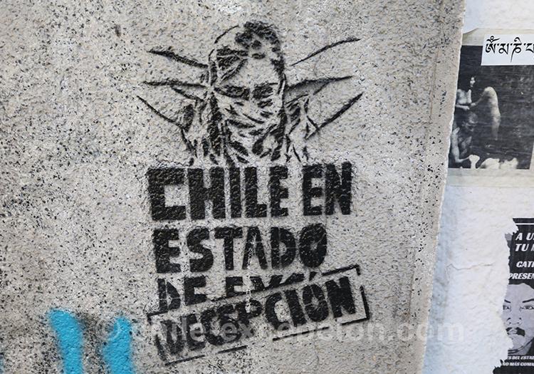 Chili en état de déception
