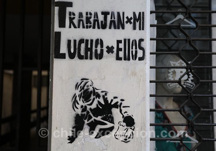 Lutter au Chili, peuple uni