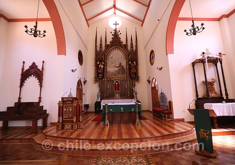Eglise de Lolol, village du centre du Chili