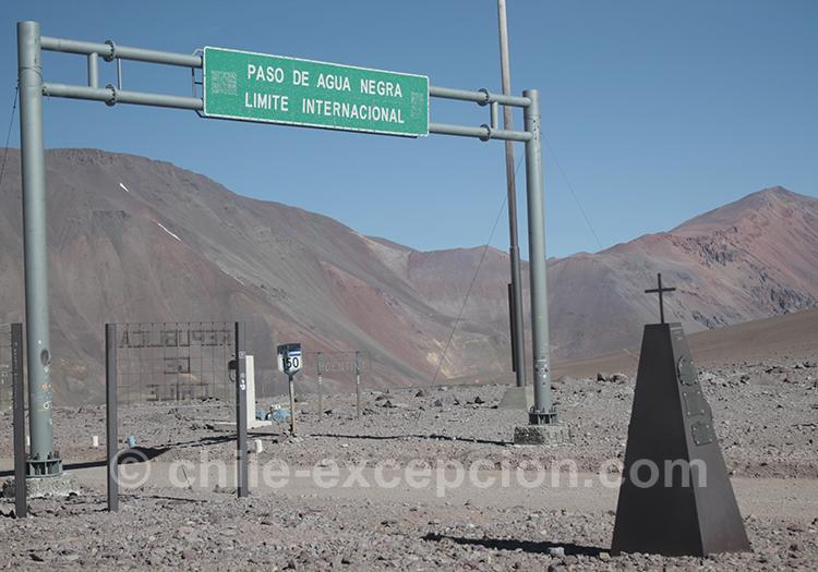Frontière Chili Argentine, Paso Agua Negra