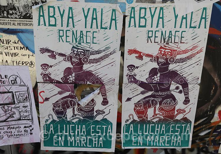 La lutte est en marche au Chili