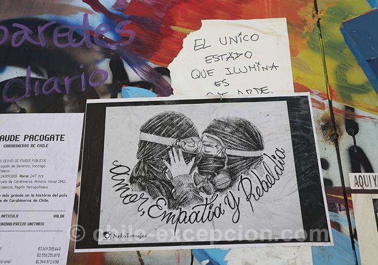 Peuple en lutte au Chili