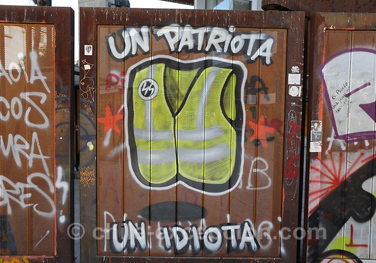 Un patriote est un idiot, Chili