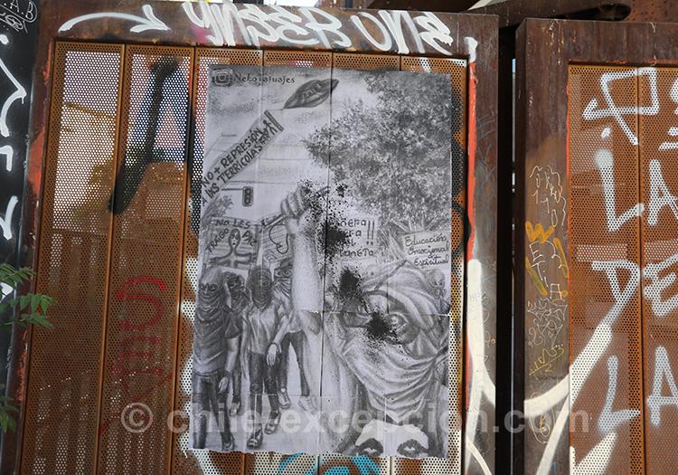 Lutter contre les soldats de l'armée du Chili
