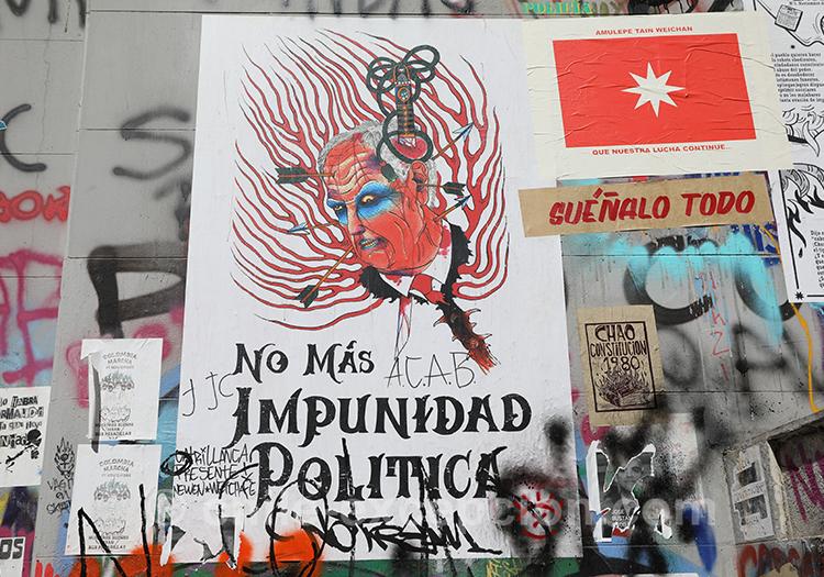 L'art de lutter au Chili