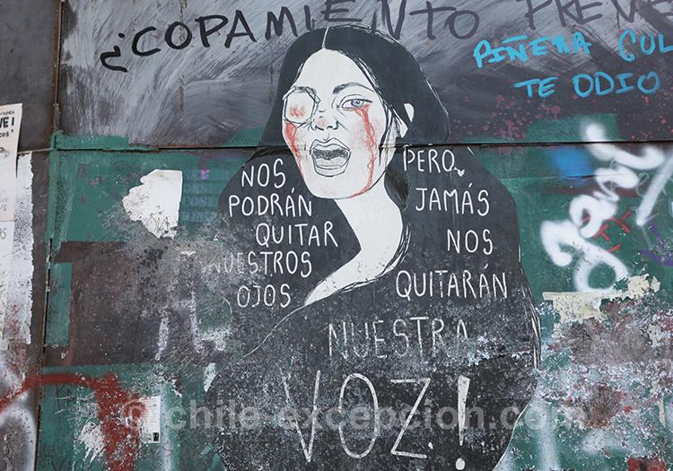 Quand lutter devient de l'art au Chili