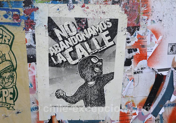 Nous n'abandonnons pas la rue, Chili