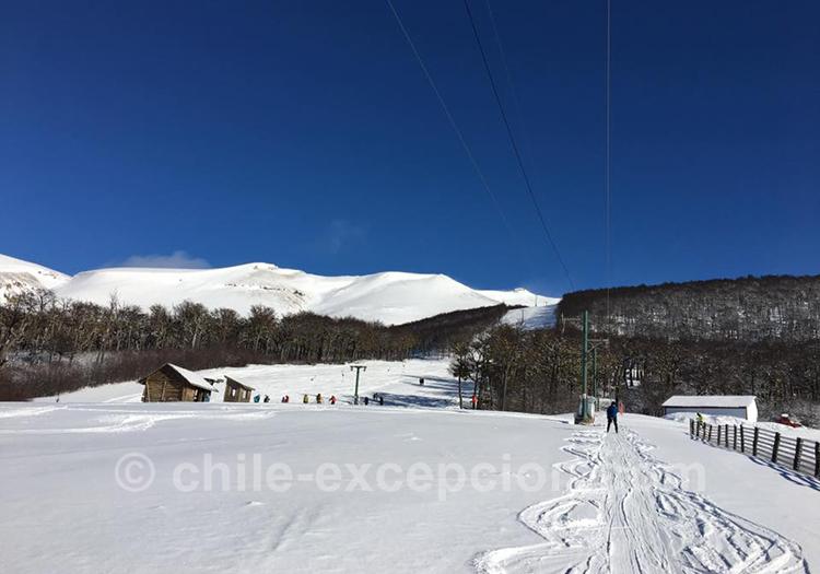Centre de ski El Fraile avec l'agence de voyage Chile Excepción