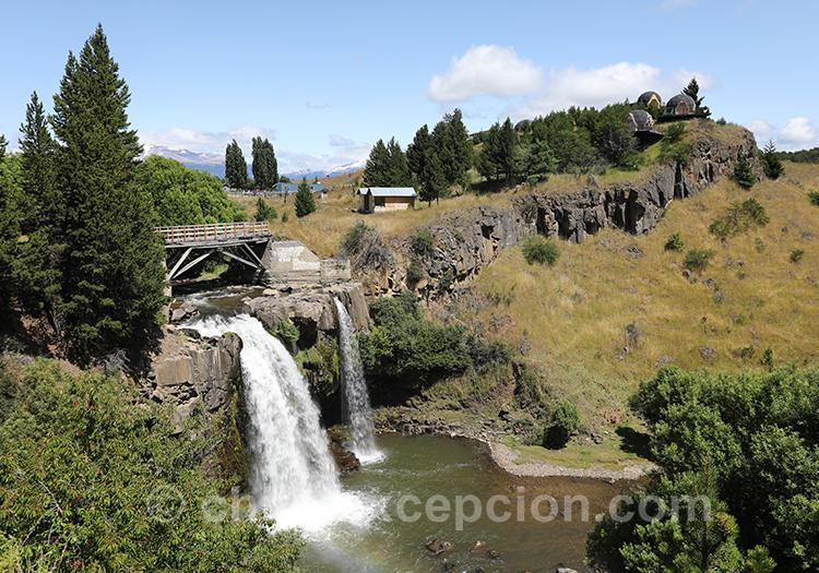 La cascade du río Pollux