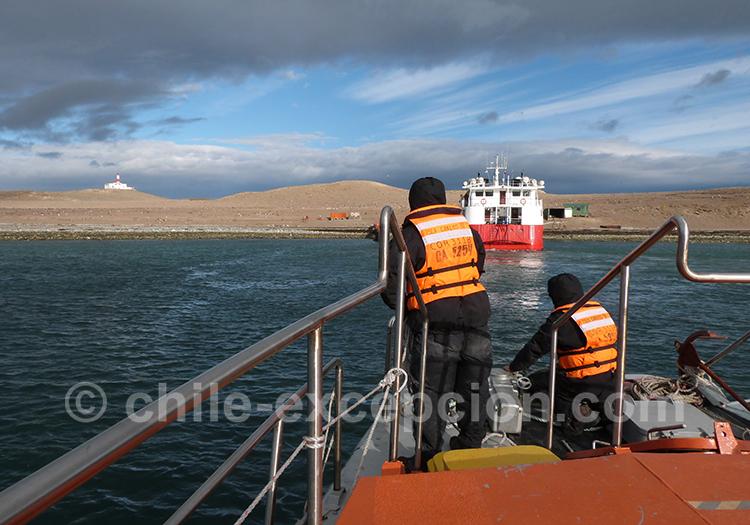 Comment faire l'excursion nautique à l'île Magdalena avec l'agence de voyage Chile Excepción