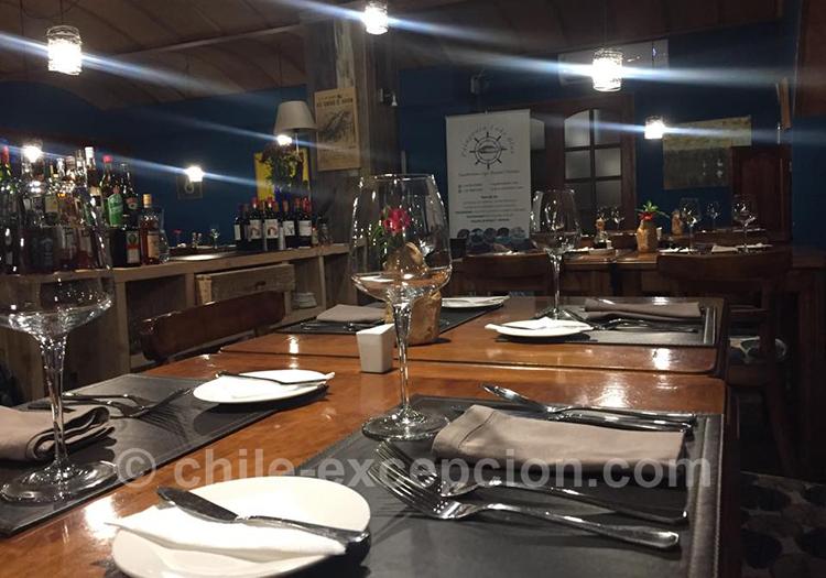 Restaurant CB Gastronomia Patagonia, Coyhaique avec l'agence de voyage Chile Excepción