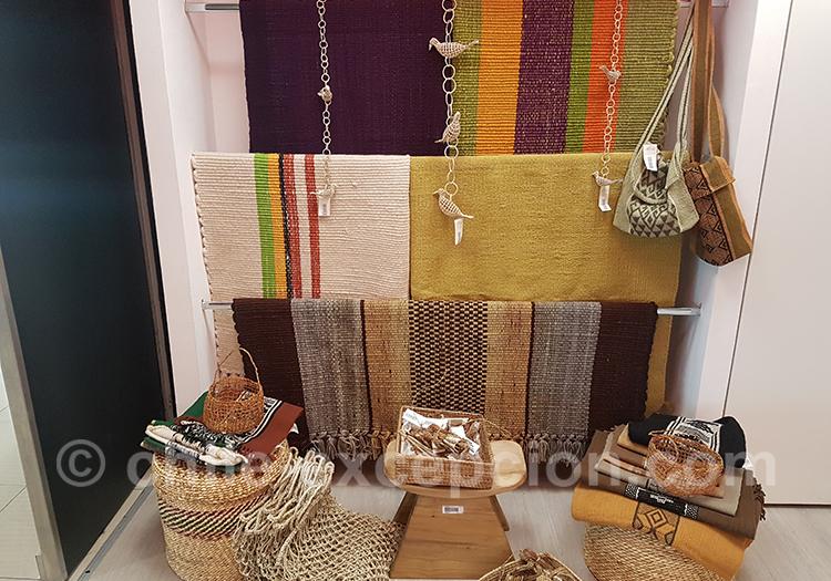 Tradition artisanale du Chili, tissus et lainages
