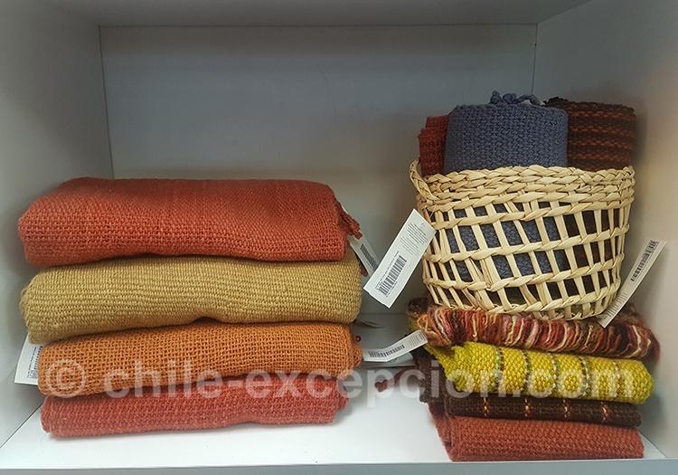 Où trouver des tissus traditionnels au Chili