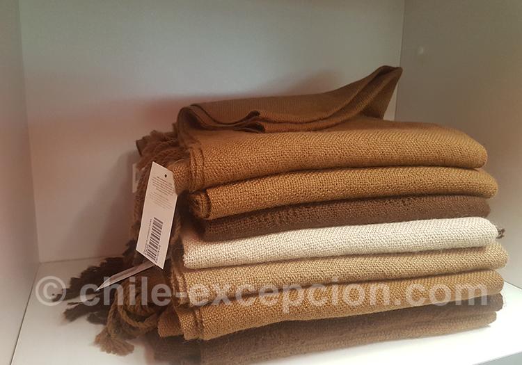Tissages chiliens, l'artisanat selon les régions