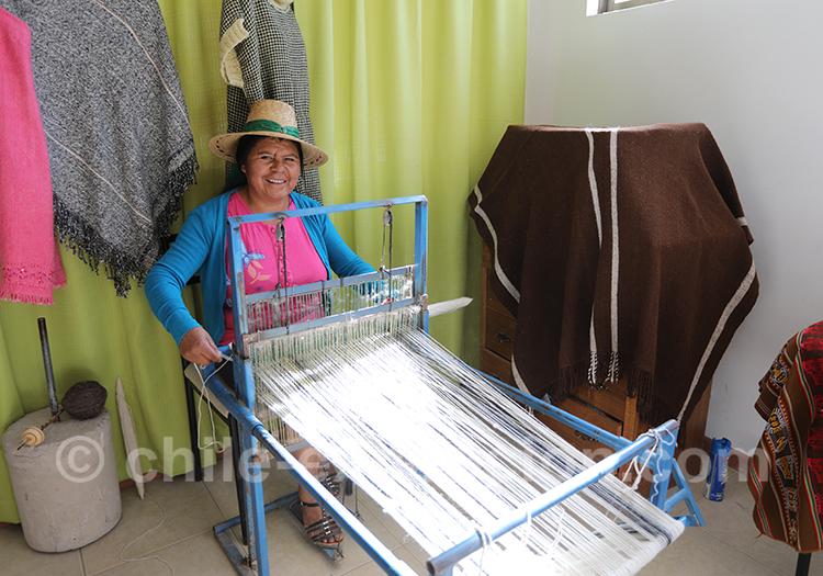 Comment fabriquent-ils le tissage d'Aymara, Chili