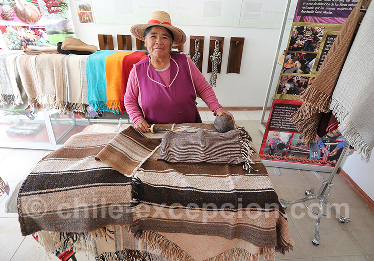 Tissage Aymara, typique du Chili
