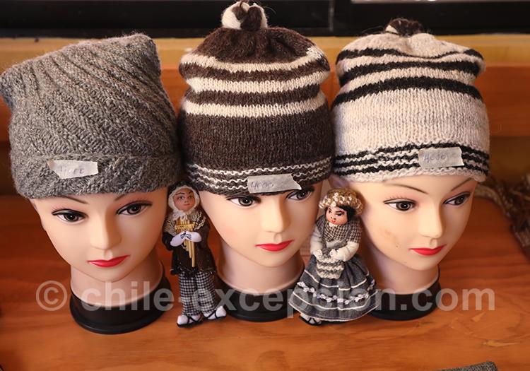 Tissage Aymara, bonnets artisanaux