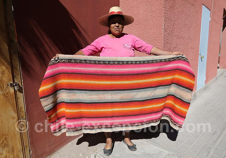 Tissage Aymara, tissus du Chili avec l'agence de voyage Chile Excepción