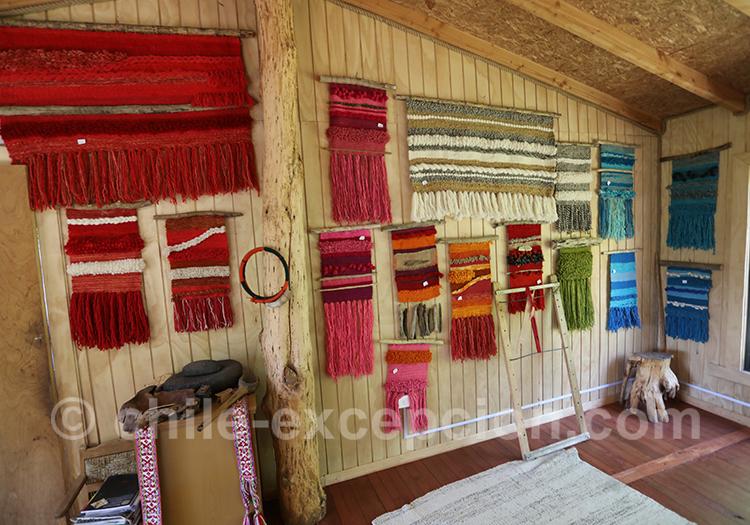 Tissage Mapuche, savoir-faire ancestral