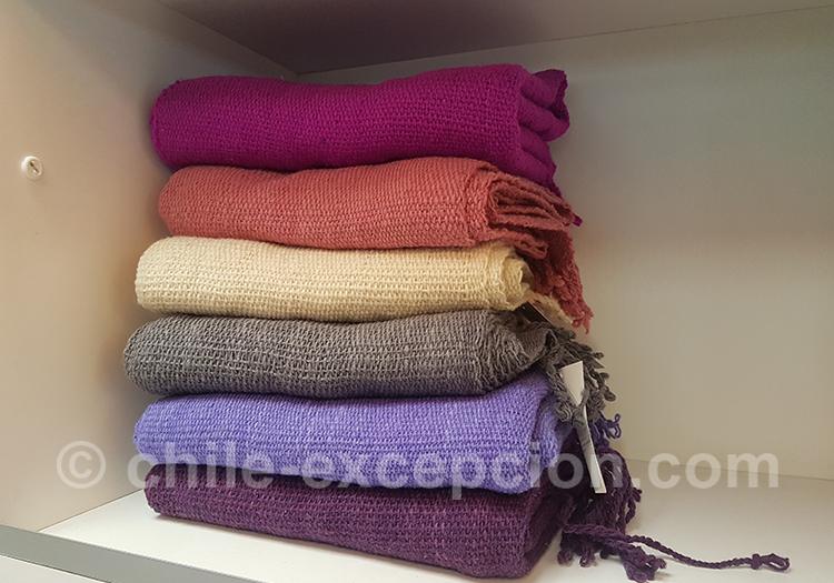 Châles en laine d'alpaga