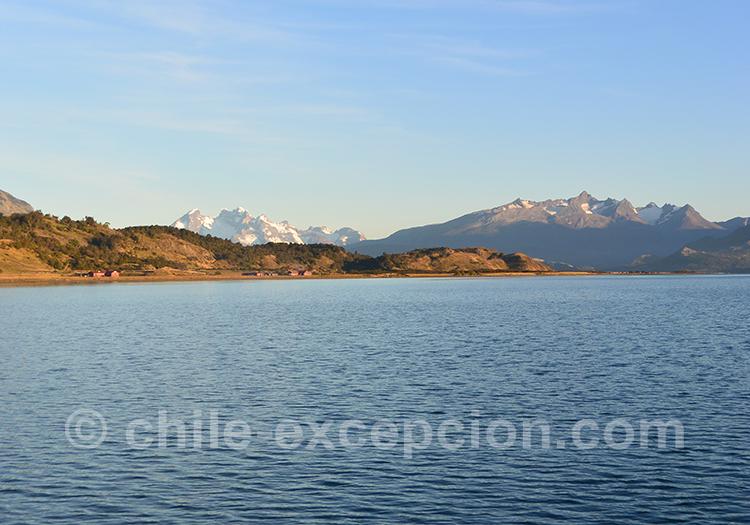 Excursion nautique Balmaceda et Serrano, Chili