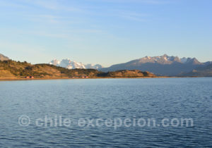 Excursion nautique glaciers Balmaceda et Serrano