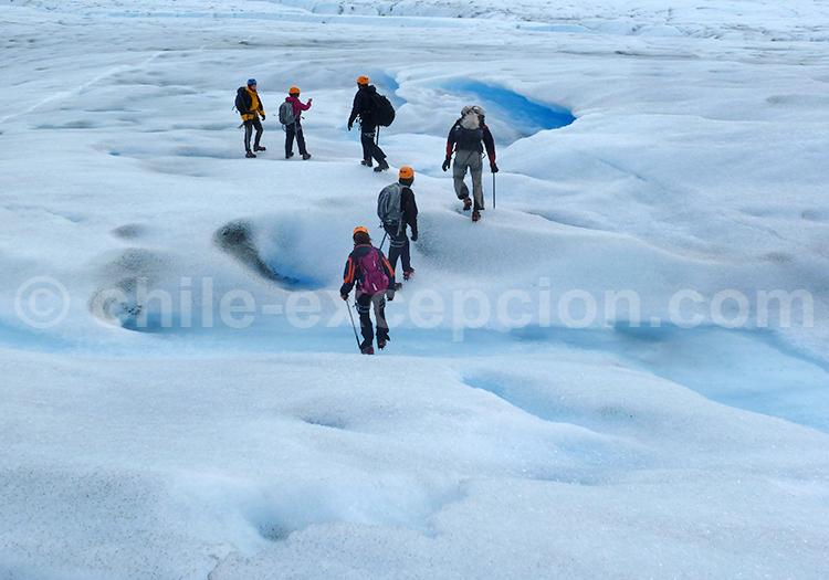 Trekking sur les glaciers au Chili