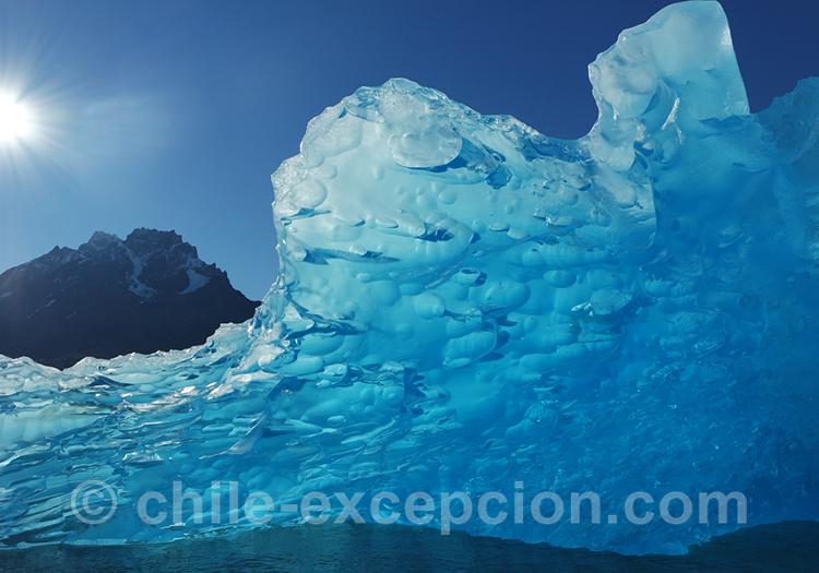 Excursion nautique en Patagonie australe du Chili