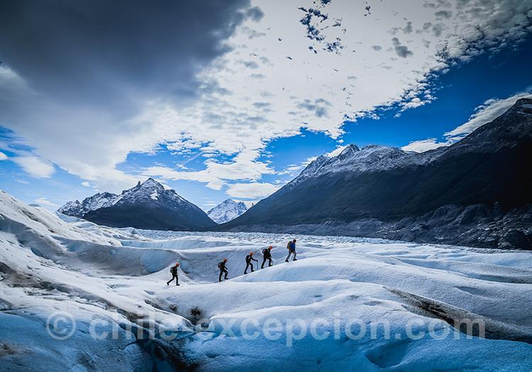 Grimper sur les glaciers du Chili