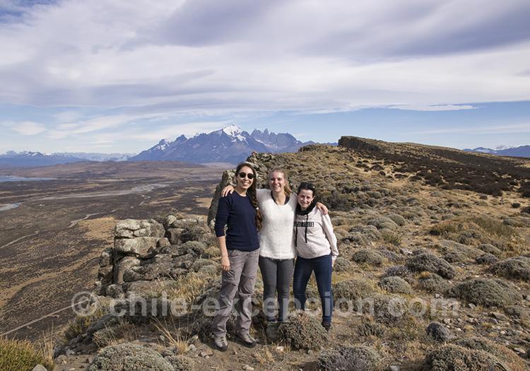 Prendre la pause dans les paysages patagons du Chili près de Torres del Paine