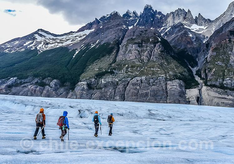 Ice Hike sur le glacier Grey