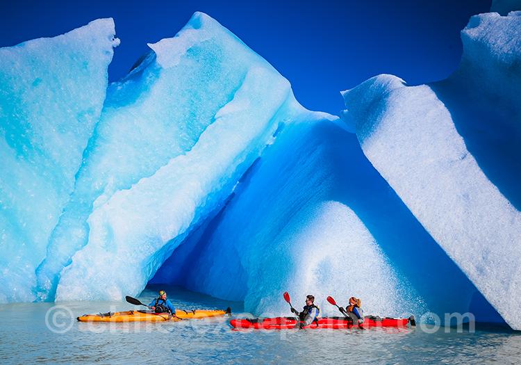 Excursion en kayak des glaciers au Chili, Torres del Paine