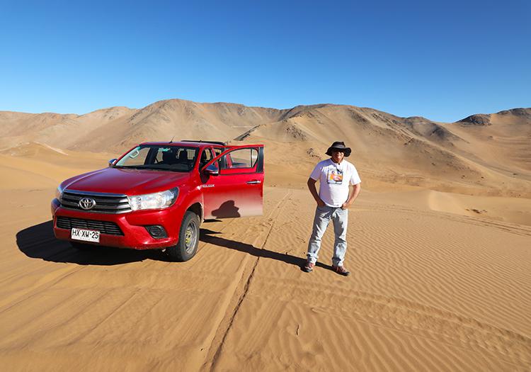 Journée dans les dunes de Copiapo