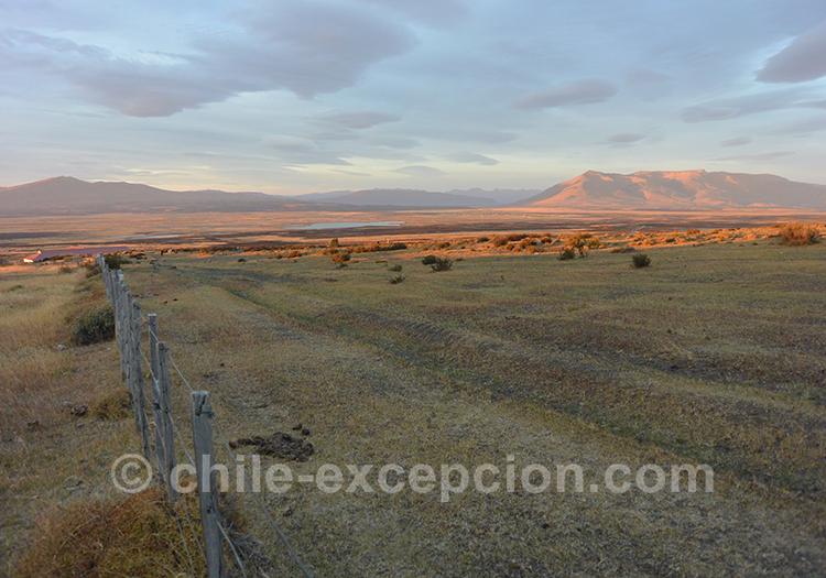 Coucher de soleil sur les Paysages de Patagonie, Torres del Paine