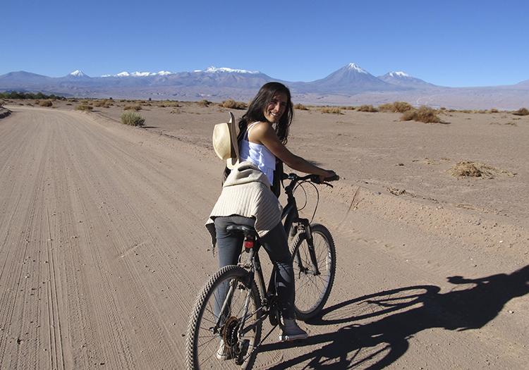 VTT dans la Cordillère de Sel à Atacama
