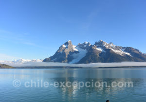 Glacier Balmaceda, Patagonie
