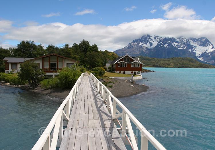 Comment aller à l'île Pehoé, Chili