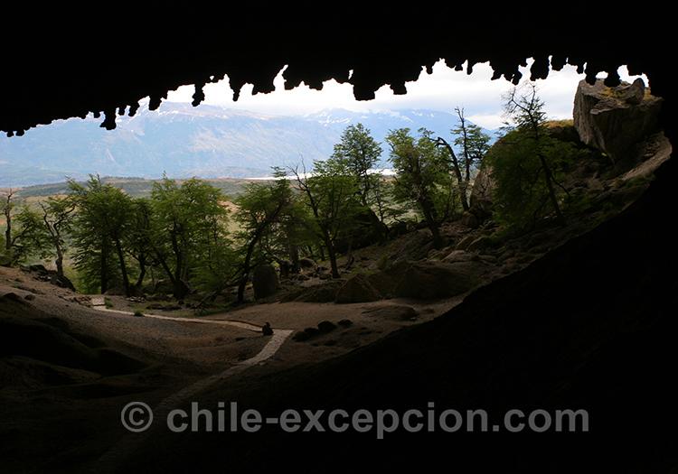 Paysages autour de la grotte du Milodon, Torres del Paine