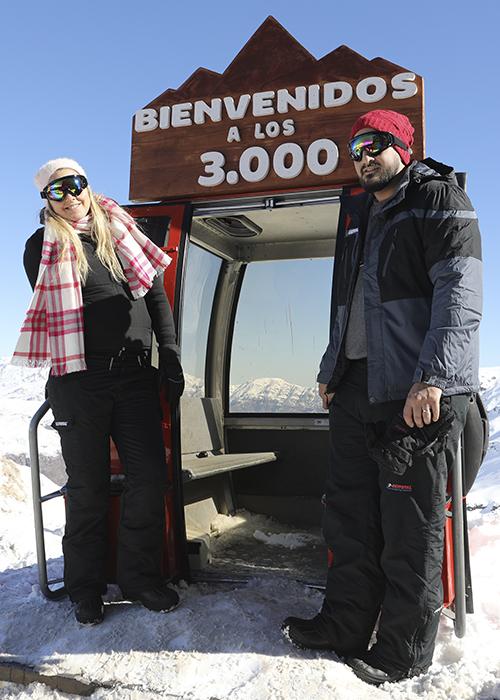 Début de la saison de ski au Chili