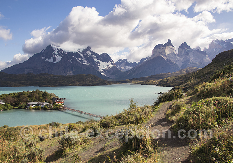 Lac Pehoé et Torres del Paine : mirador Condor
