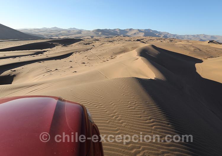 4x4 dans les dunes de Copiapo