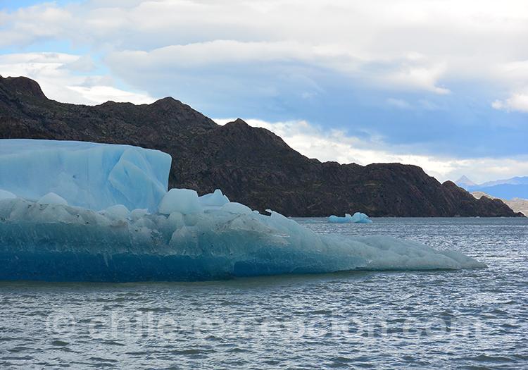 Glaciers et lacs de Patagonie, Chili