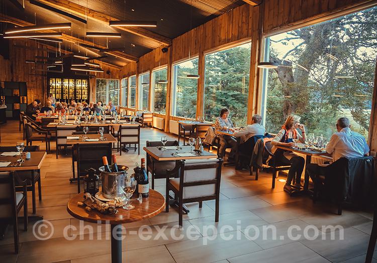 Restaurant de l'hôtel Lago Grey