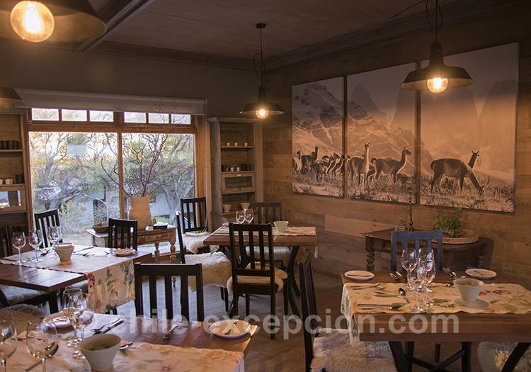Restaurant de l'estancia Cerro Guido, Chili